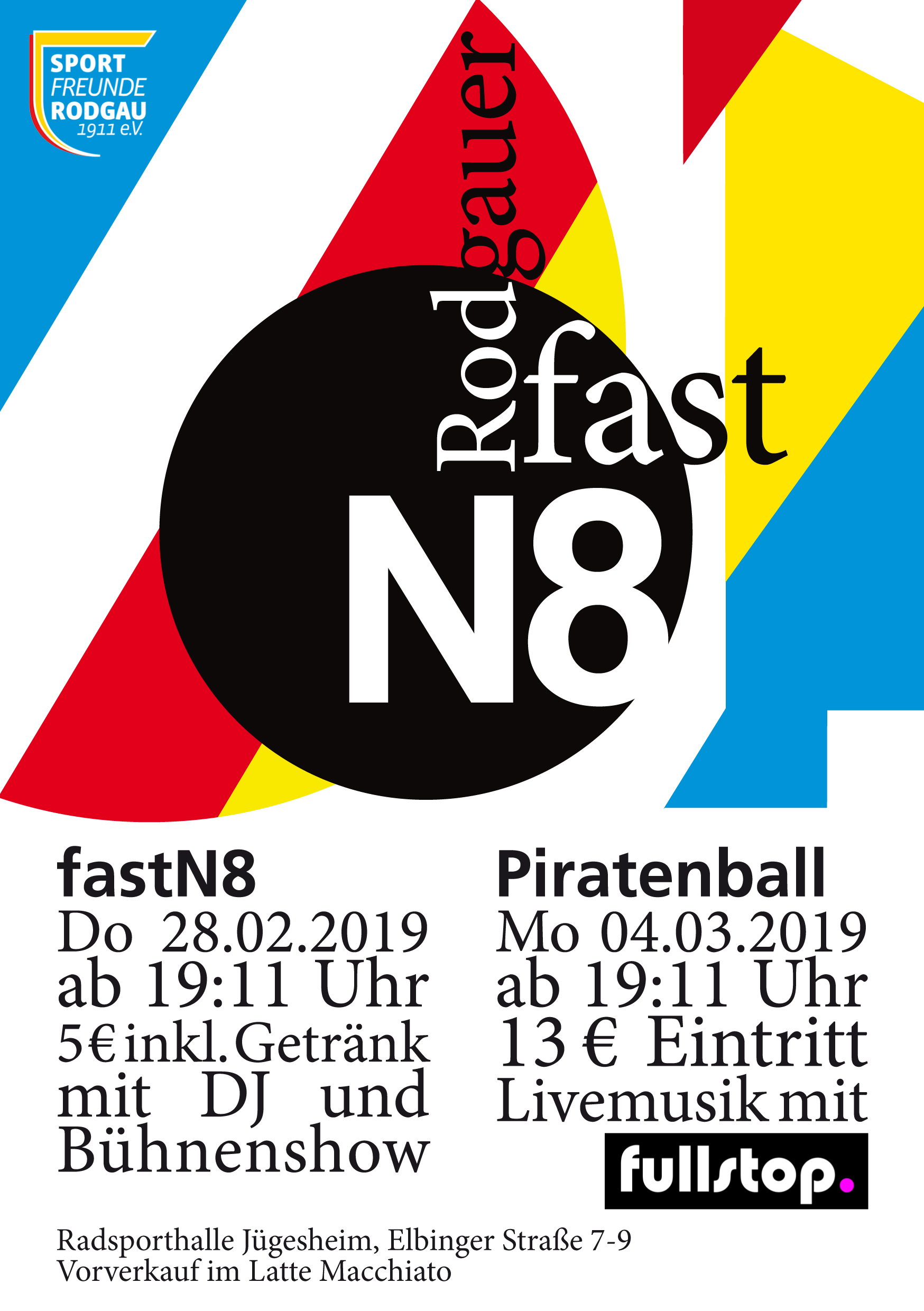fastN8 2019 Flyer A5